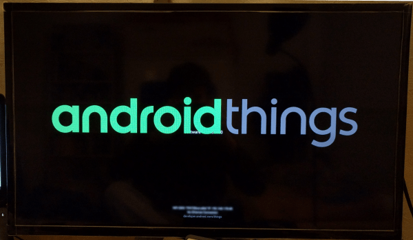 Android Things working!