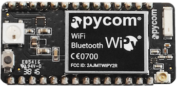 MicroPython: Home Automation using Blynk connected to a WiPy