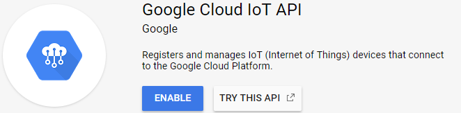 Google Cloud Platform: Google IoT Core